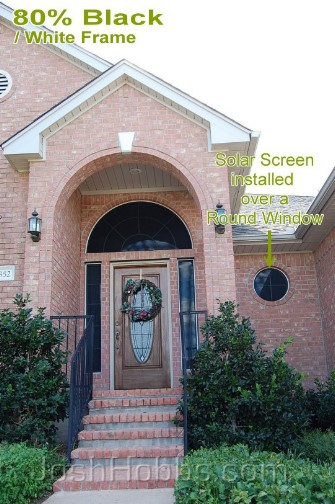 Austin TX Solar Window Blinds aka Solar Window Screens