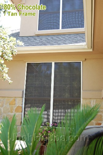 Lakeway TX Glass Shade Screen aka Solar Window Screens
