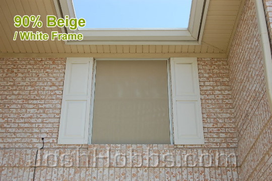 Pflugerville TX Heat Shade Screens aka Solar Window Screens